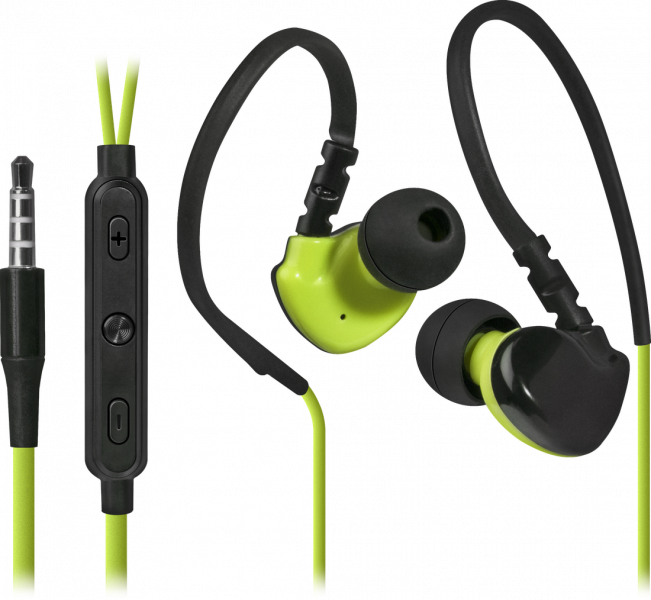Defender Technology Slušalice OutFit W770, Headset for mobile devices, Black+Yellow, in-ear