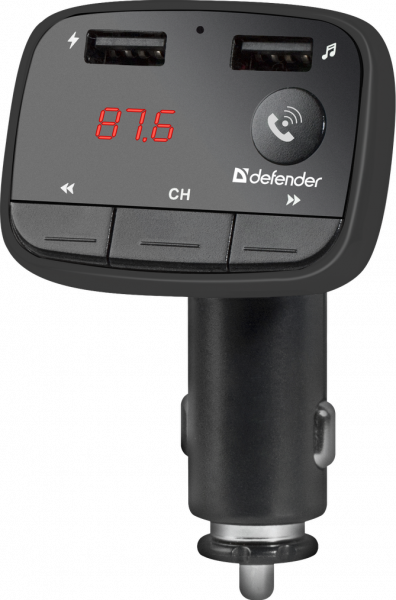 Defender Technology FM transmitter RT-Multy, Bluetooth (Hands free function), USB (for flash drives and for charging mobile devices) and SD card support