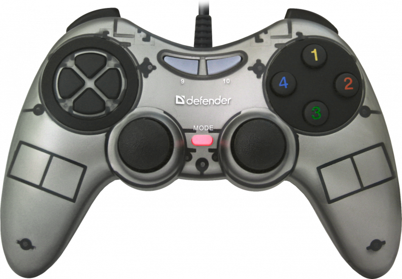 Defender Technology GAMEPAD Zoom Wired gamepad, USB Xinput, 10 buttos,2 sticks