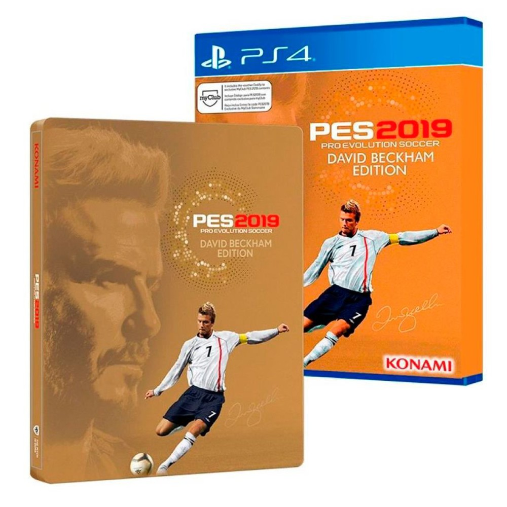 Konami PS4 Pro Evolution Soccer 2019 David Beckham