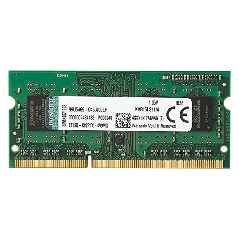 Kingston SODIMM 4GB 1600MHz DDR3L