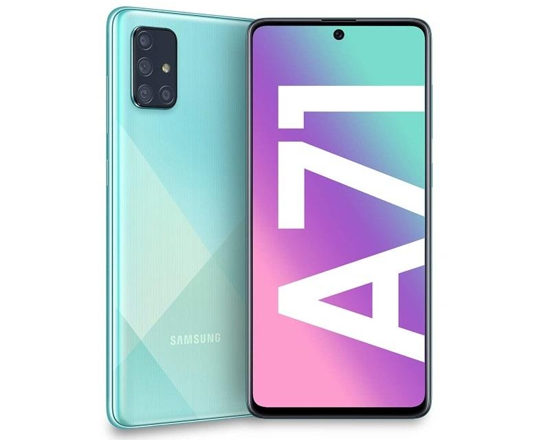 SAMSUNG GALAXY A71 8GB 128GB BLUE
