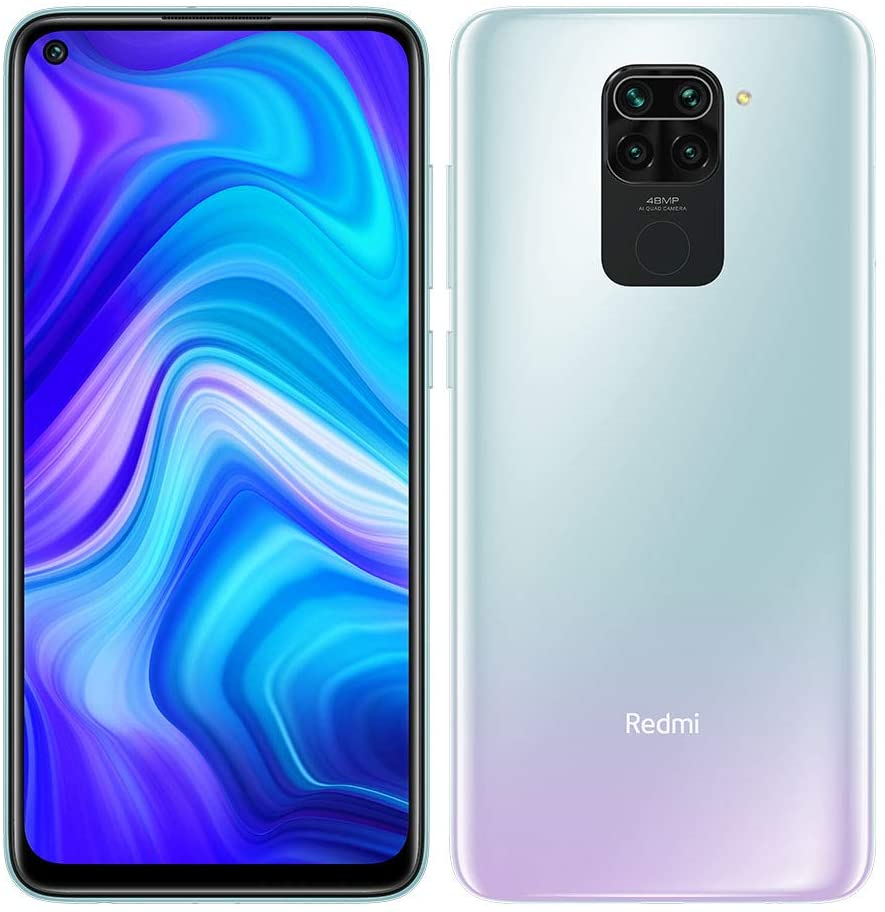 Xiaomi Redmi Note 9 4/128GB Polar White